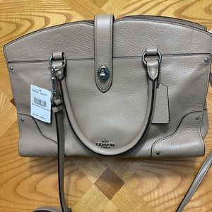 NWT Coach Mercer Satchel